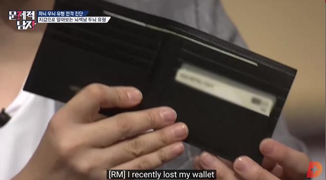 BTS, RM BTS, rm bts, Bts, RM để ví rỗng, RM mất ví, bts