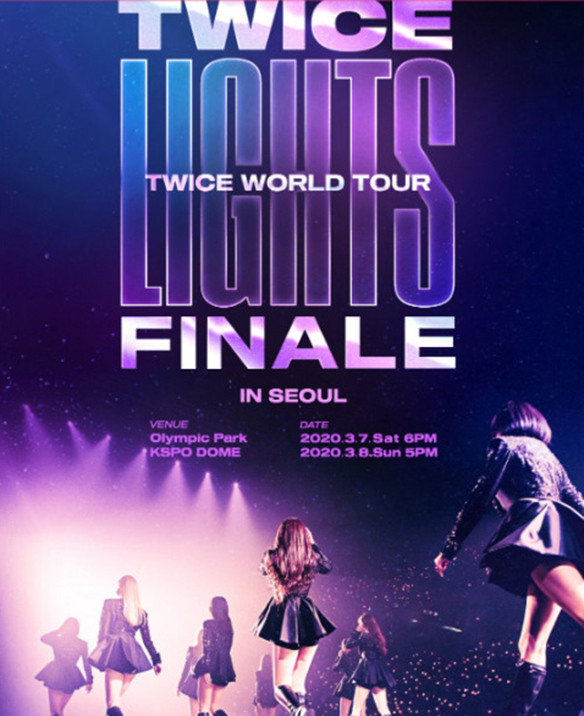 Twice, TWICELIGHTS in Seoul, COVID-19, JYP Entertainment, TWICE