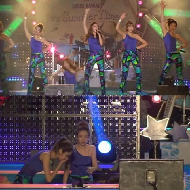 K-pop, Tai nạn sân khấu K-pop, Girl's Generation, 4MINUTE, SHINee, Music Bank