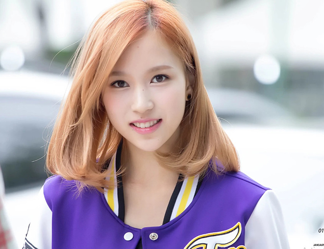 Twice, Mina, Mina nhuộm tóc vàng, Sinh nhật Mina Twice, TWICE