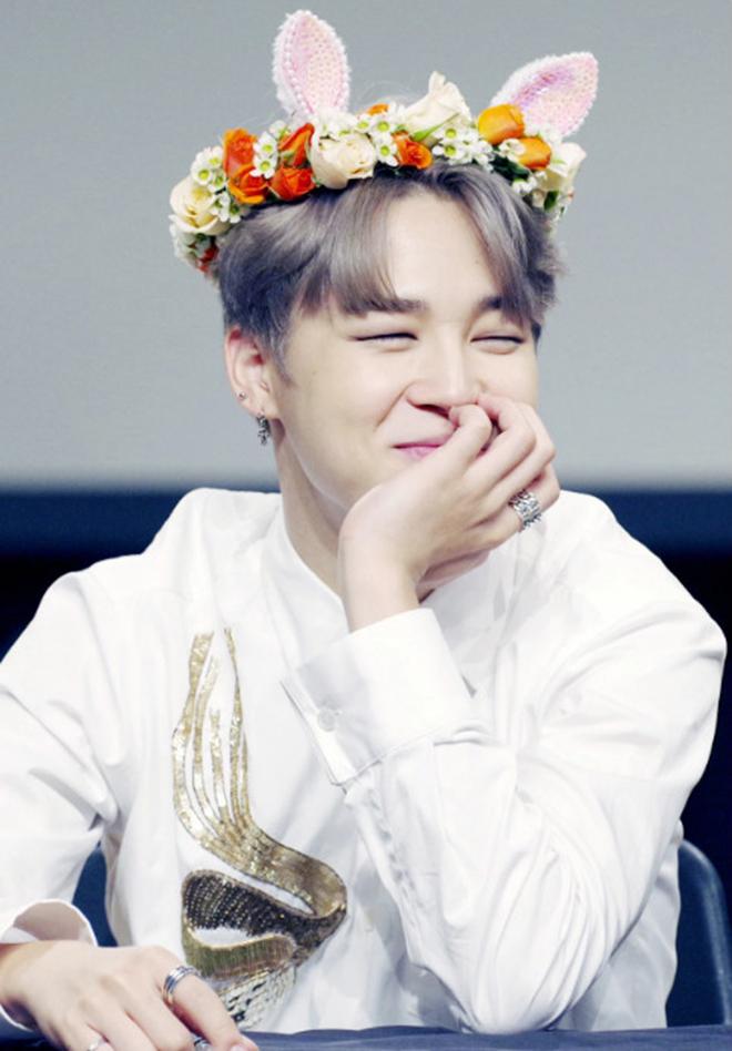 BTS, Bts, Jimin đeo bờm, jimin bts, Jimin cute, Rilakkuma, Jimin mochi, bts