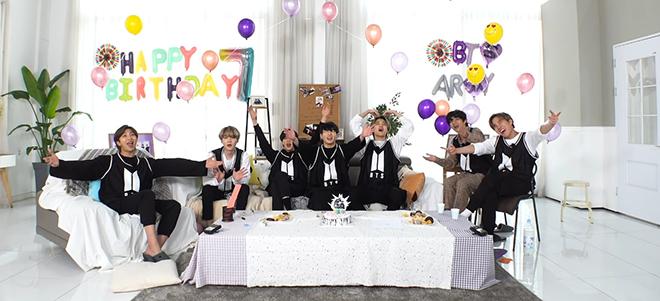 BTS, FESTA 2020, Tiệc sinh nhật BTS, Jungkook, Jin, J-Hope, Jimin, V BTS