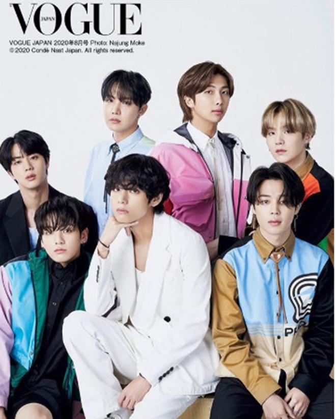 BTS, Jungkook, Prada, MAP OF THE SOUL 7, Vogue Japan, Prada cháy hàng