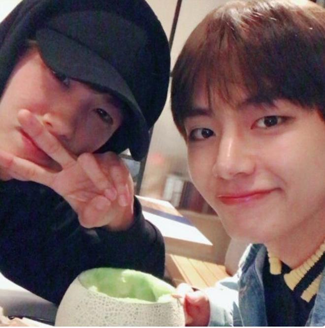 BTS, Jungkook, V BTS, Jin, Patbingsu, Hyungsik, ZE: A