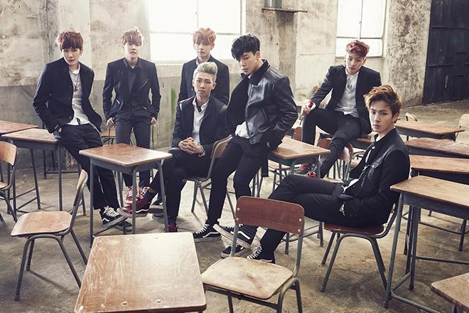 BTS, EXO, V BTS, Park Nae Joo, Baekhyun EXO, Kai EXO, shaggy cut, multi-layer, K-pop