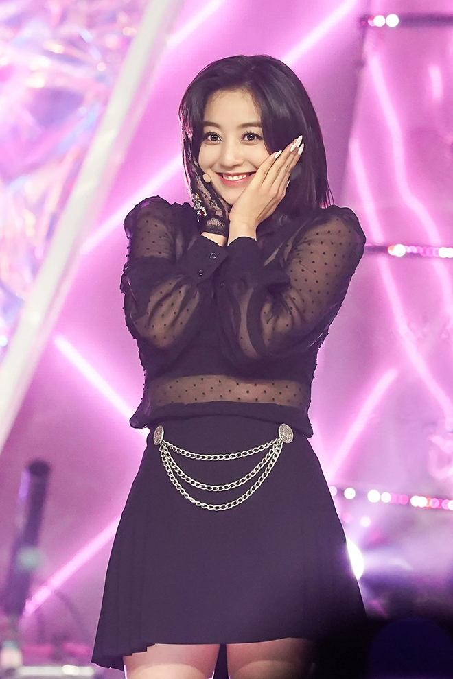 Twice, Jihyo, Đường cong đốt mắt của Jihyo Twice, Jihyo Twice đẹp hút hồn
