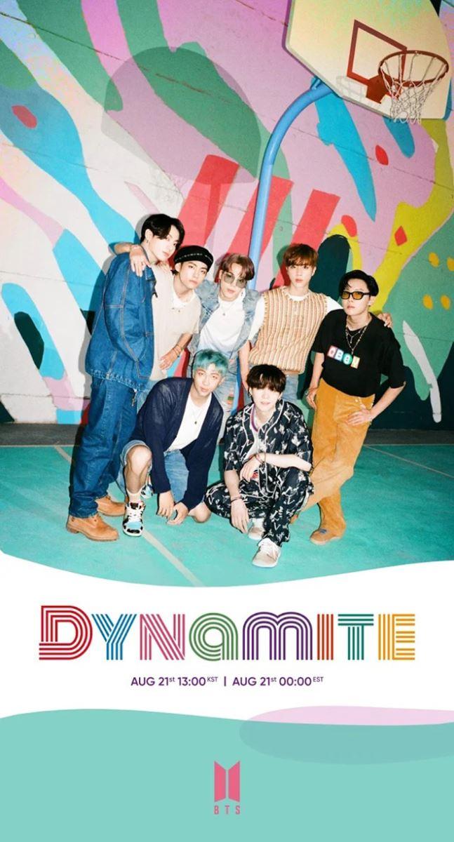 BTS, Dynamite, MV Dynamite, Jungkook, Suga, V BTS, Jimin, Jin, RM BTS