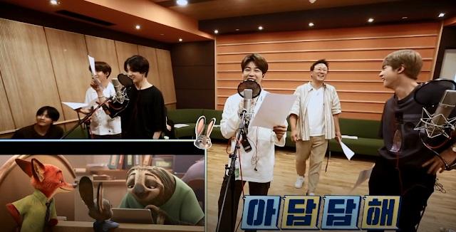 BTS, BTS lồng tiếng, Jungkook phá ngang, V BTS, RM BTS, Jimin, Jin, Run BTS