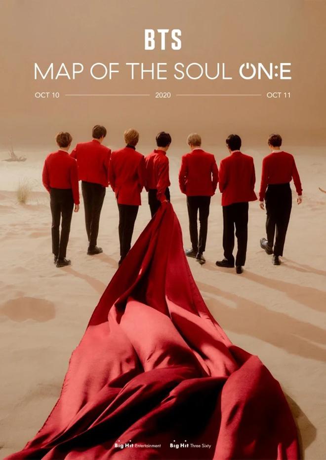 BTS, BTS tổ chức hòa nhạc, MAP OF THE SOUL ON:E, Big Hit, Dynamite