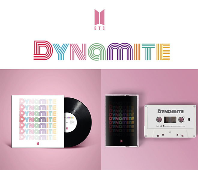 BTS, Đĩa than Dynamite, Băng cassette Dynamite, BTS tái xuất, Đĩa đơn Dynamite