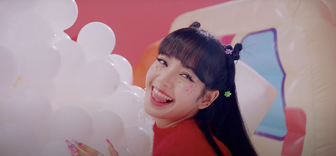 Blackpink, MV Ice Cream, Rosé, Rose, Selena, Jennie, Lisa, Jisoo
