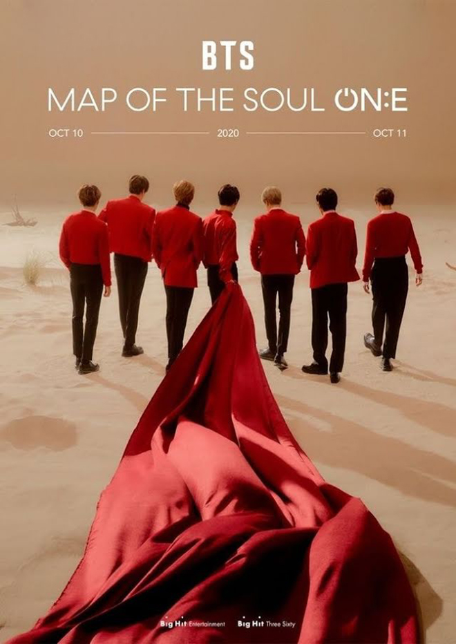 BTS, BTS MAP OF THE SOUL ON E, Big Hit, Bang Bang Con, BTS hòa nhạc livestream