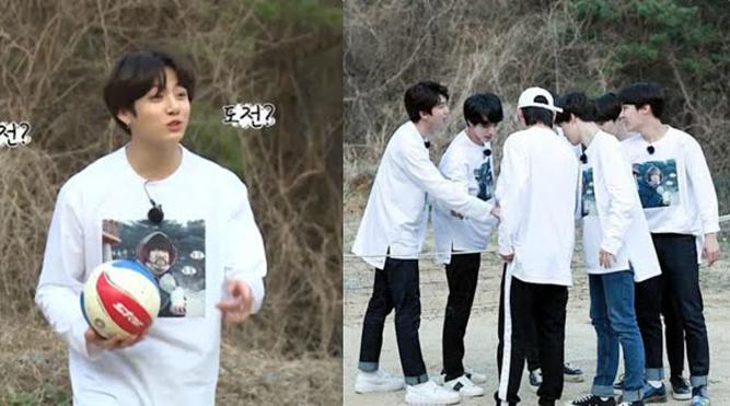BTS chơi bóng chuyền vụng về nhưng fan nhận ra nhờ đâu họ trở thành siêu sao