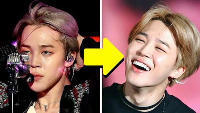 11 nam thần K-pop 'biến hình' hẳn mỗi khi cười: Jimin BTS, Soobin TXT, Sehun EXO…