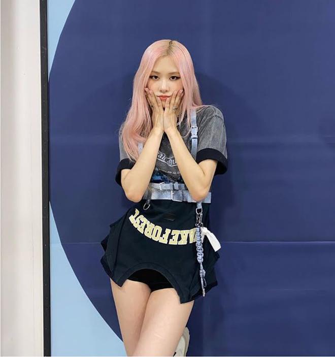 Blackpink, Rose, Rosé, The Album, Rosé luôn để tóc tẩy, Blackpink tại  fansign