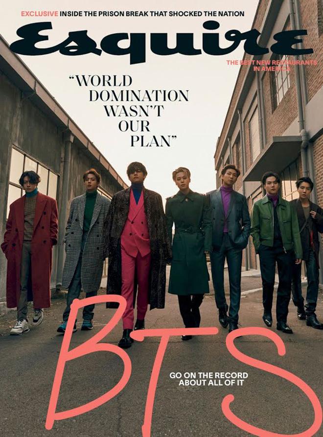 BTS, BTS thách thức vẻ nam tính, Suga, BTS trả lời phỏng vấn Esquire, Jungkook