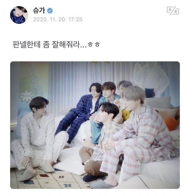 BTS, BTS chơi khăm nhau, Jungkook, Jin, Suga, V BTS, BE BTS, BTS chơi khăm Suga