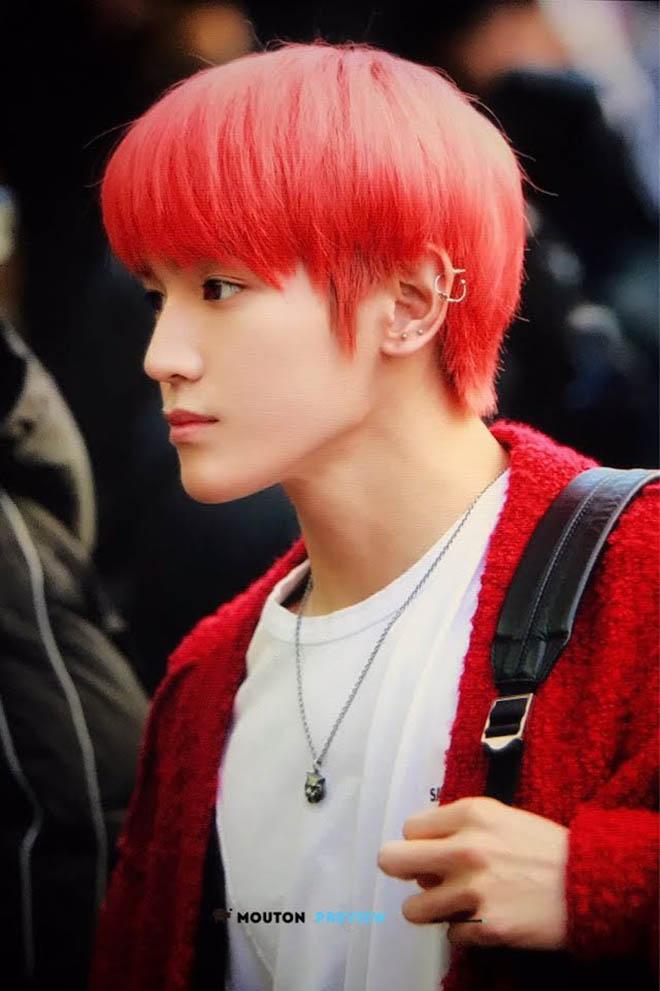 K-pop, Thần tượng Kpop với mái tóc đỏ, V BTS, Kang Daniel, Taehyun TXT, J-Hope