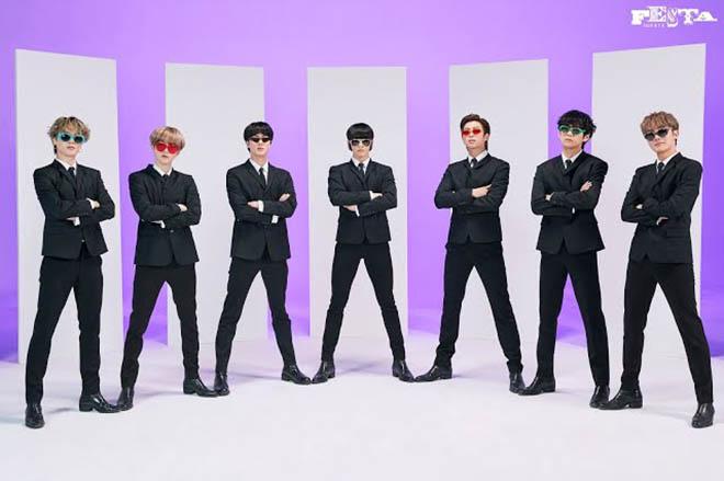 BTS, Jungkook, Jungkook dán tóc mai kiểu Elvis Presley, Family Portrait, FESTA, Suga