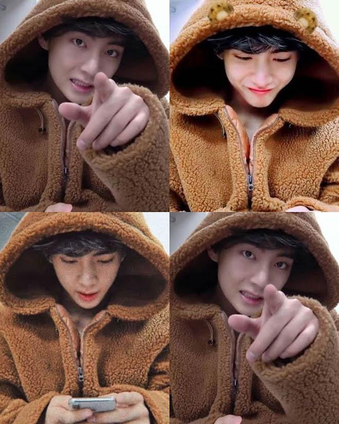 BTS, V BTS, V BTS giống gấu hay hổ, Jungkook, Suga, Jimin, J-Hope, Jin, RM BTS