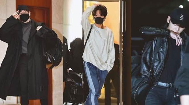 Trang phục sân bay của Jungkook BTS khiến ai cũng phải ngoái nhìn