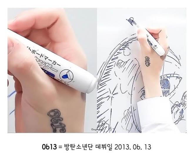 BTS, Jungkook, Hình xăm của Jungkook, Ý nghĩa hình xăm của Jungkook, Run BTS, Tiger lily