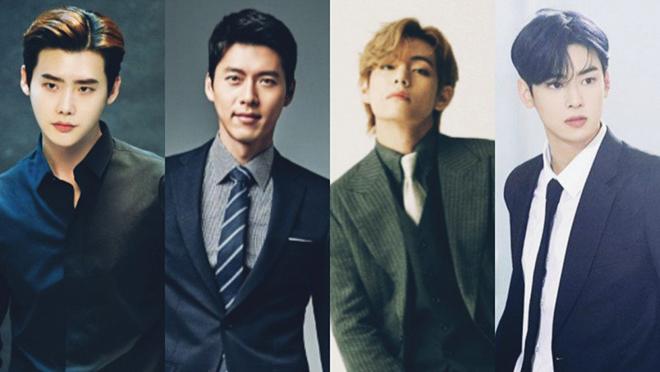 Những nam thần K-pop sở hữu gương mặt hoàn hảo