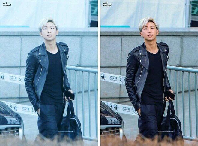 BTS, Jungkook, K-pop, Tranh cãi tẩy trắng ảnh thần tượng K-pop, Kpop