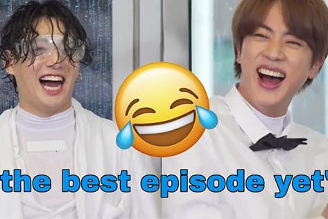 10+ khoảnh khắc cười 'như được mùa' của BTS
