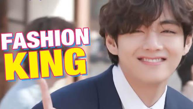V BTS lại ăn mặc kiểu 'chơi trội' nhưng chẳng ai phàn nàn