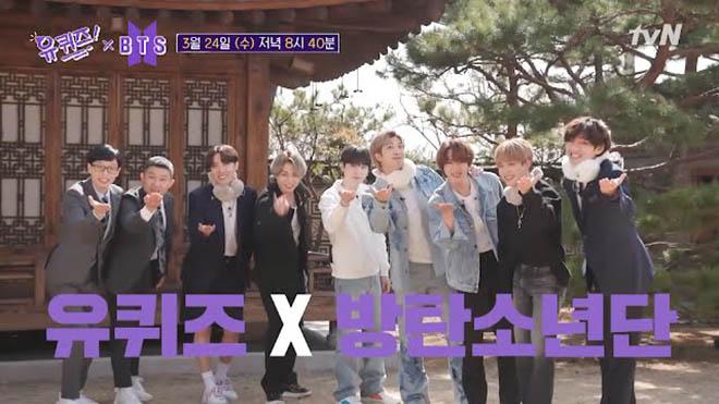 BTS, V BTS, V BTS lại ăn mặc chơi trội, You Quiz On The Block, Jungkook, J-Hope