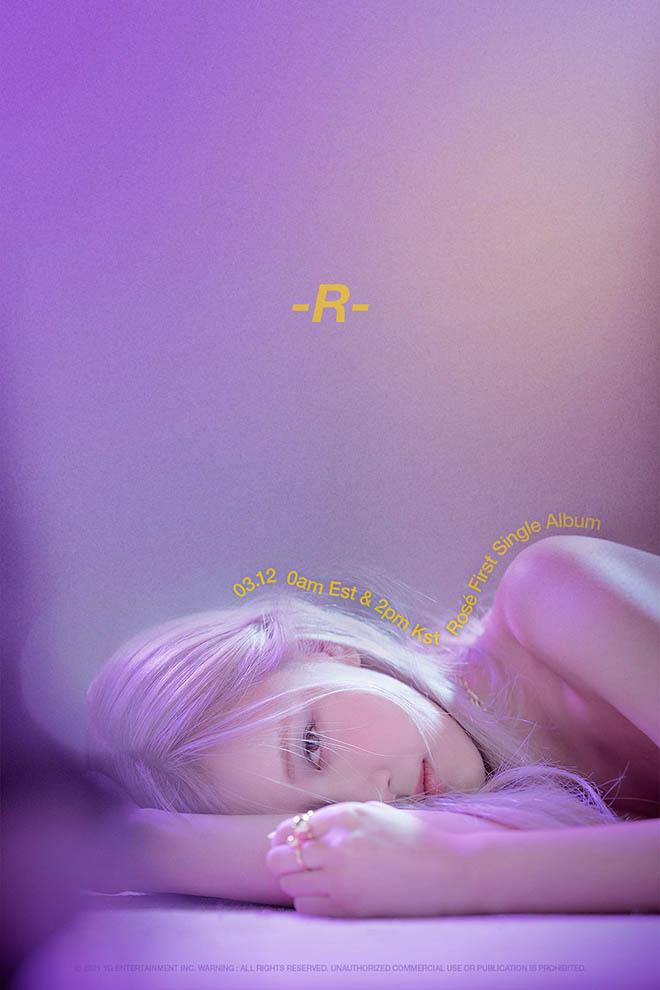 Blackpink, Rosé, Rosé tung album solo đầu tay, Album R của Rosé, On The Ground