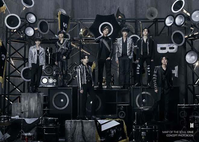 BTS, BTS trông như ngôi sao rock, MAP OF THE SOUL ON E, Jungkook, V BTS, Jimin