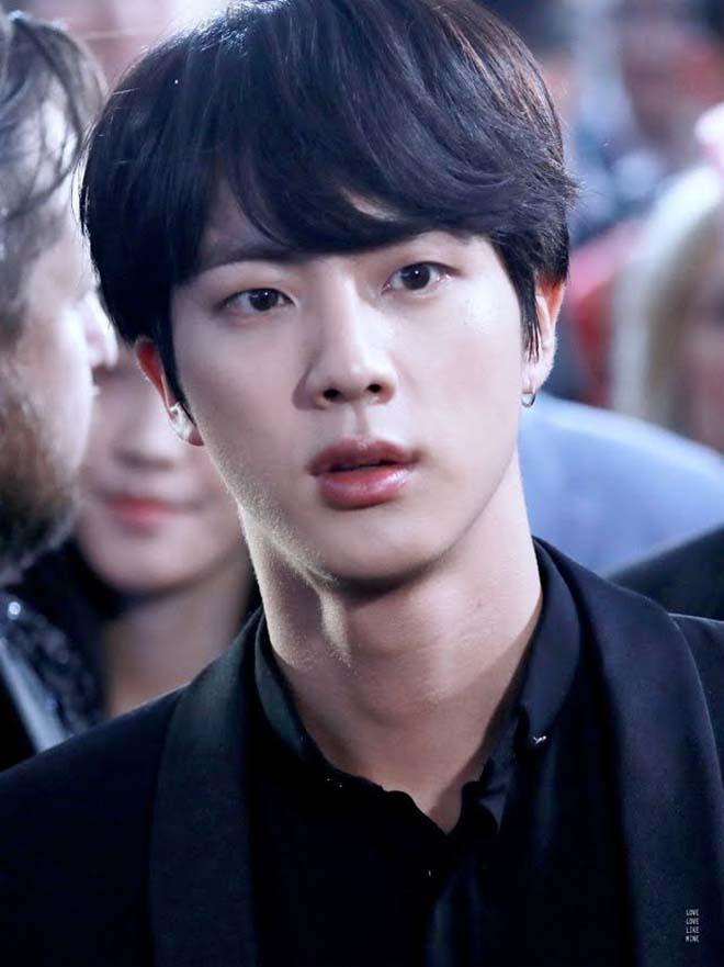 BTS, Jin trai đẹp toàn cầu, Ngày Cá tháng Tư, Ảnh Jin BTS chưa chỉnh sửa, V BTS
