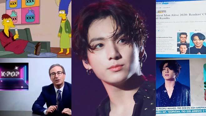 Jungkook ngày càng 'đình đám', liên tục được nhắc tên trong các chương trình TV toàn cầu