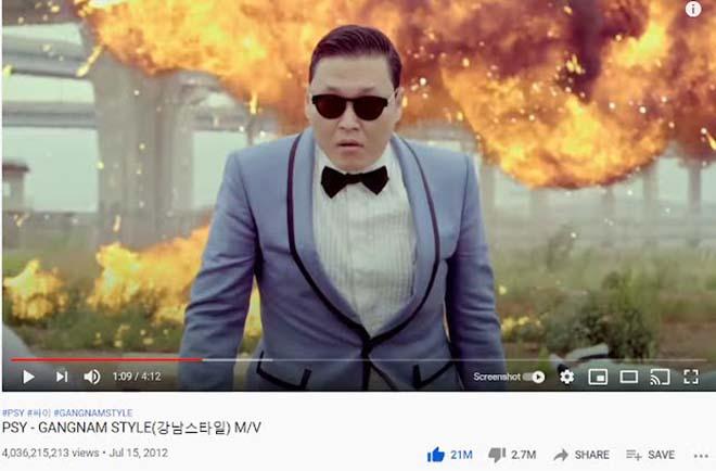BTS, 8 MV Kpop đạt tỷ view, Dynamite, Blackpink, Psy, Boy With Luv, DNA BTS, Kpop