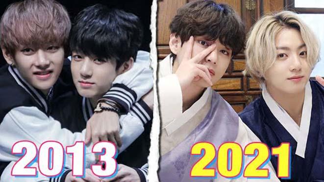 BTS: 'Cưng xỉu' 20+ bức ảnh biểu tượng của V và Jungkook