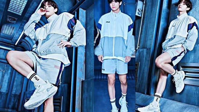 V BTS lại khiến fan 'ngất ngây' với phong cách cực kỳ 'manly'