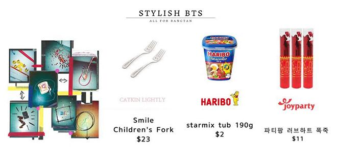 BTS, Giá các phụ kiện của BTS trong clip Butter, Jungkook, Suga, V BTS, Jimin