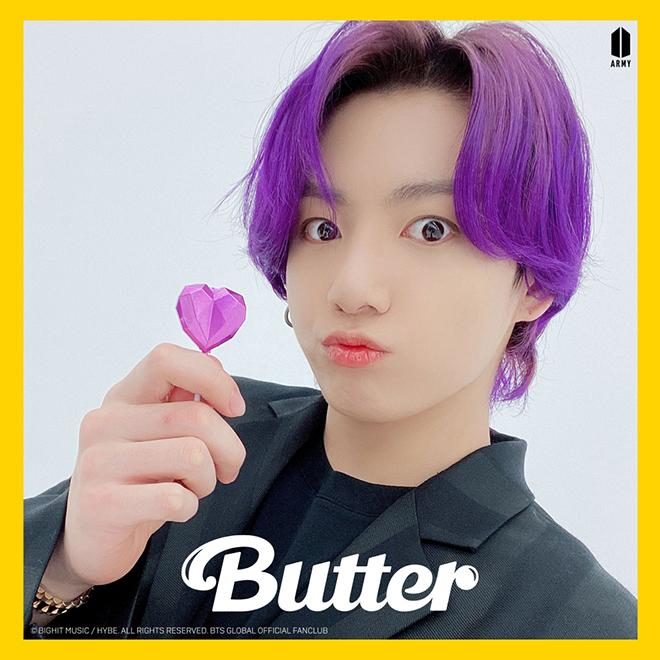 BTS, Màu tóc của BTS trong Butter, Jungkook tím ngắt, RM hồng, Jimin, V BTS