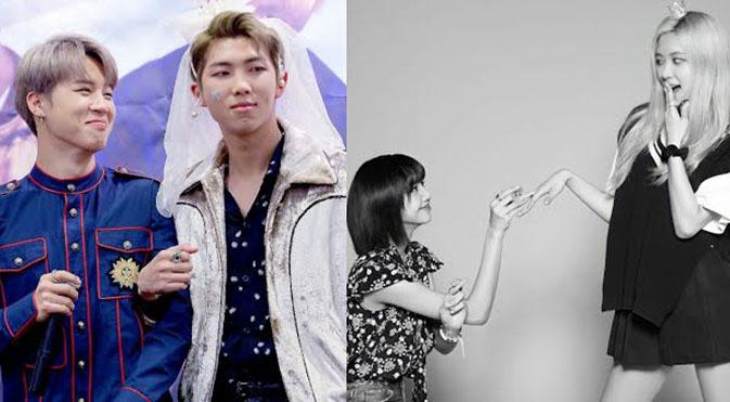 'Chết cười' phản ứng của các thần tượng K-pop khi 'cầu hôn' bạn cùng nhóm: BTS, Twice...