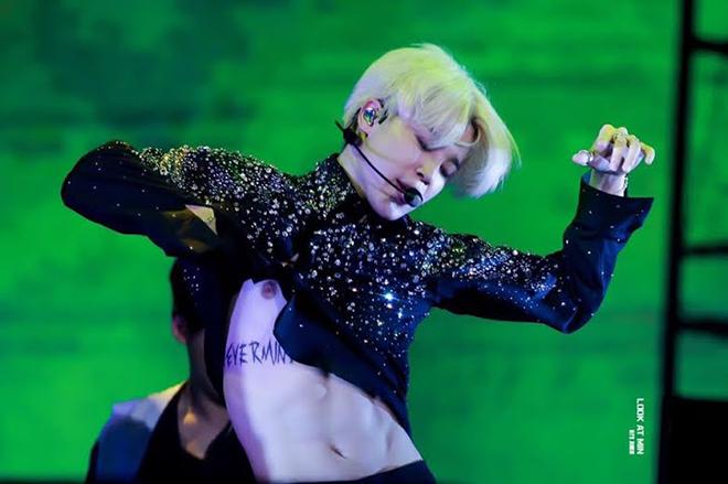 BTS, Jimin, Giải mã hình xăm của Jimin BTS, Ý nghĩa hình xăm của Jimin, Jungkook