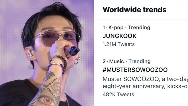 BTS, Jungkook. Màn diễn huyền thoại của Jungkook, Muster Sowoozoo 2021, V BTS