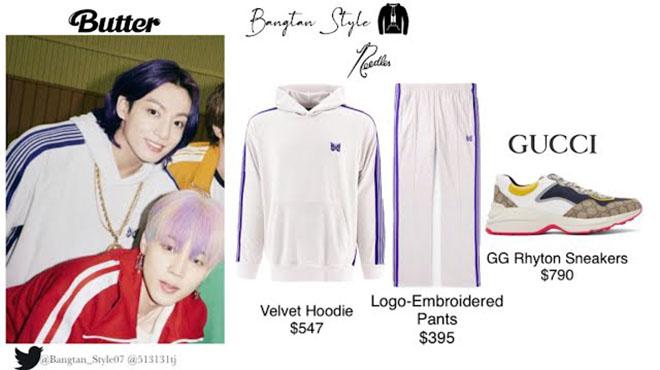 BTS, Jungkook, Giá trang phục hot của Jungkook, Muster 2021, Festa 2021, V BTS