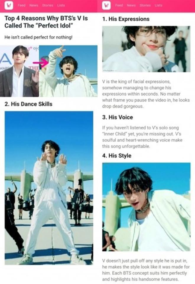 BTS, V BTS, V BTS là thiên tài sân khấu, Stage Genius, Jungkook, Jimin, Suga
