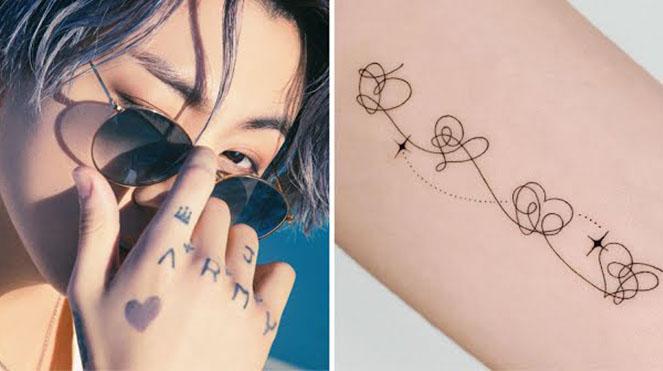 'Cưng xỉu' những hình xăm nhỏ xinh được lấy cảm hứng từ BTS