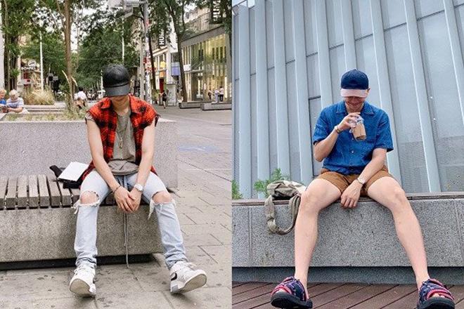 BTS, RM BTS, RM BTS trong trang phục đời thường, Jungkook, V BTS, Jimin, Suga