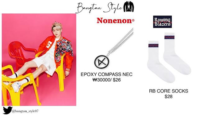 BTS, Weverse Magazine, Bóc giá trang phục sang chảnh của BTS, Jungkook, V BTS
