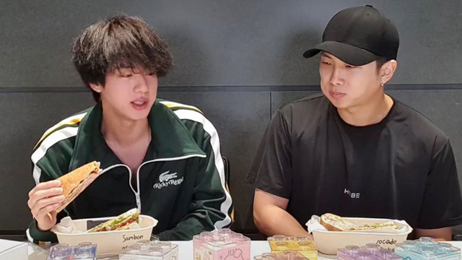 Fan tức giận khi BTS bị ghép với 'coin' bẩn, Jin & RM phải quảng bá món ăn họ không thích