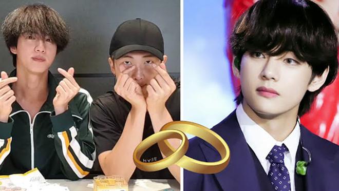 BTS: Jin và RM đã chuẩn bị sẵn quà cưới khi V nhận được lời cầu hôn